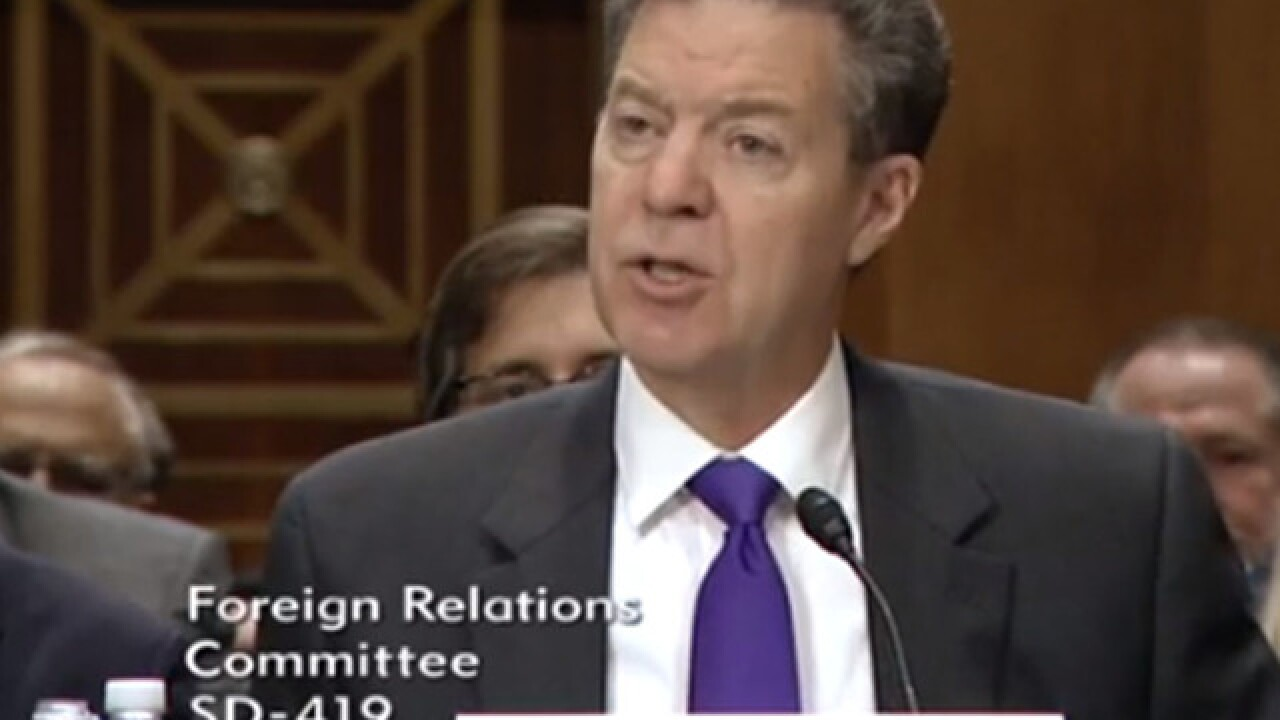 Senate Committee approves Brownback nomination again