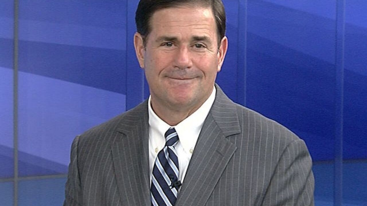 Gov. Ducey cancels campaign events out of respect for McCain