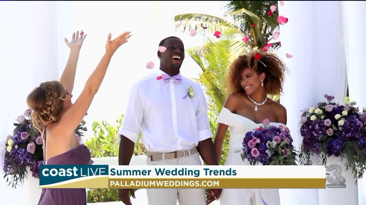 The latest in summer wedding trends on Coast Live