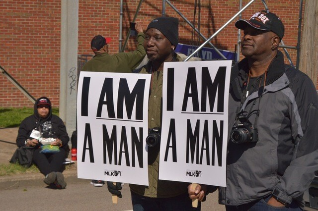 PHOTOS: Thousands March To Honor Of MLK On The 50th Anniversary Of His Death