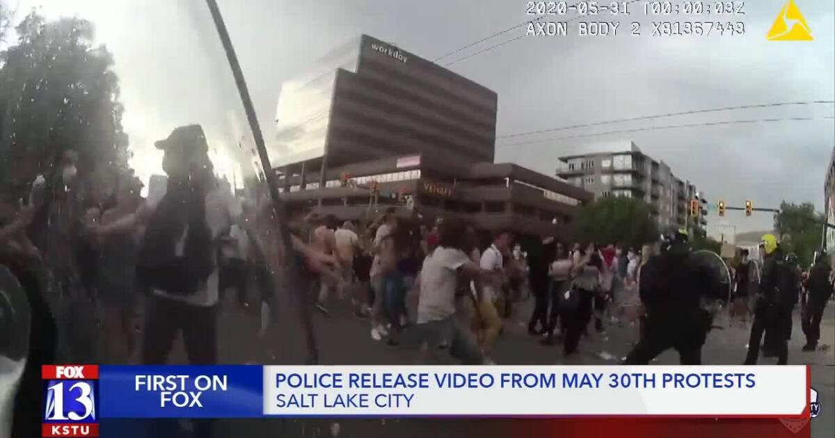 Tech :  Diffusion d'images de la caméra d'une manifestation violente, le SLCPD recherche des suspects  infos , tests