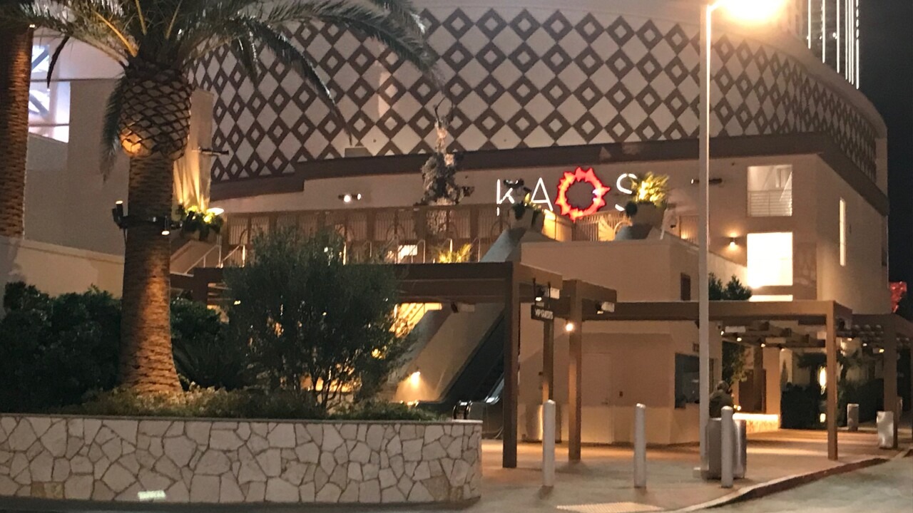 KAOS is closed just months after it opened at the Palms