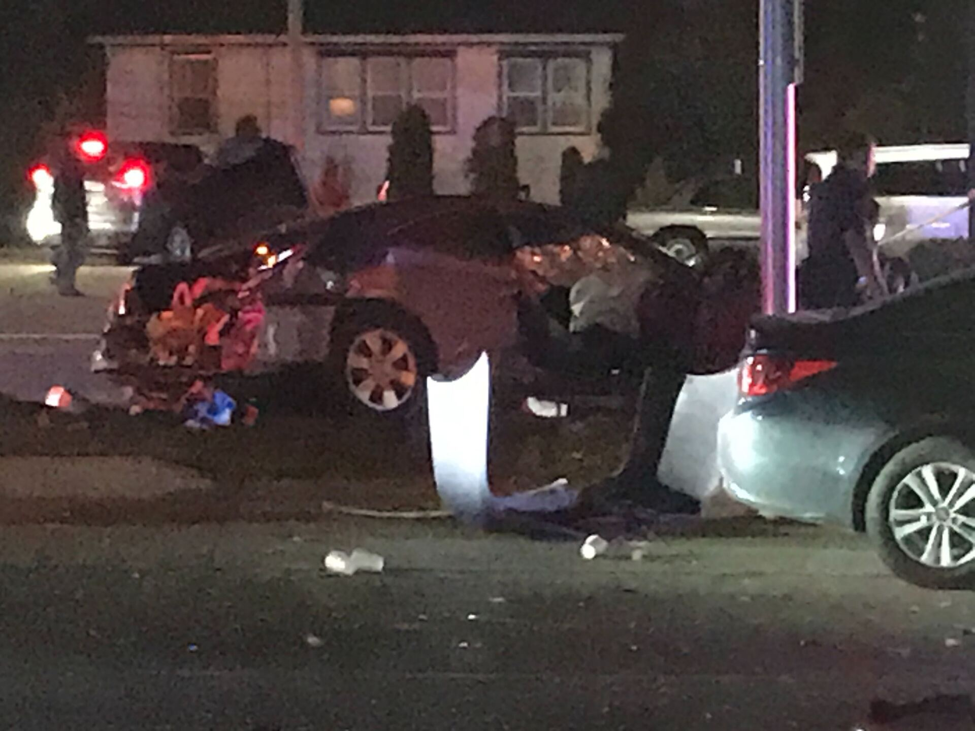 The crash near 62nd and Capitol