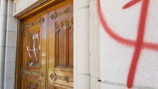 Sunday night vandalism damages estimated at over $10,000