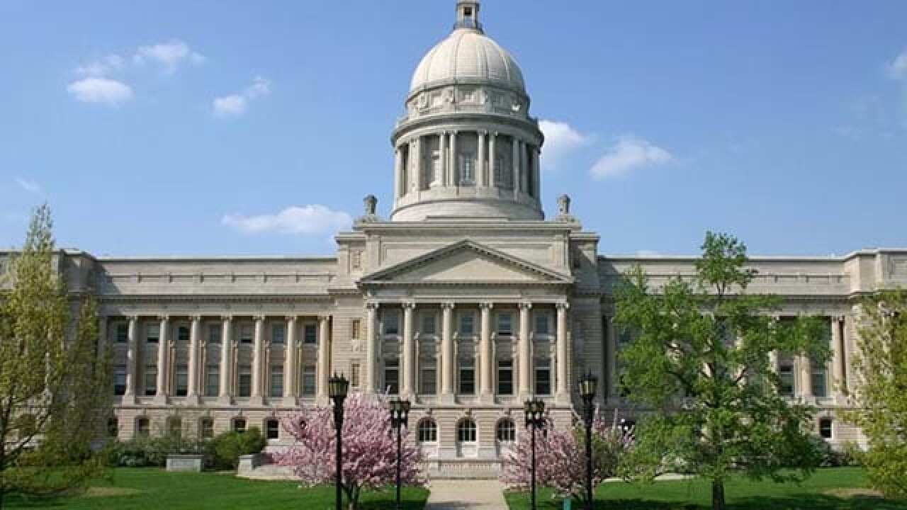The Latest: Kentucky Lawmakers Agree To Pension Plan