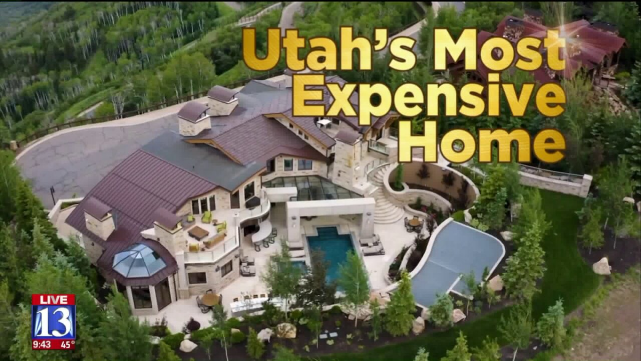 Get an inside look at Utah's most expensive home