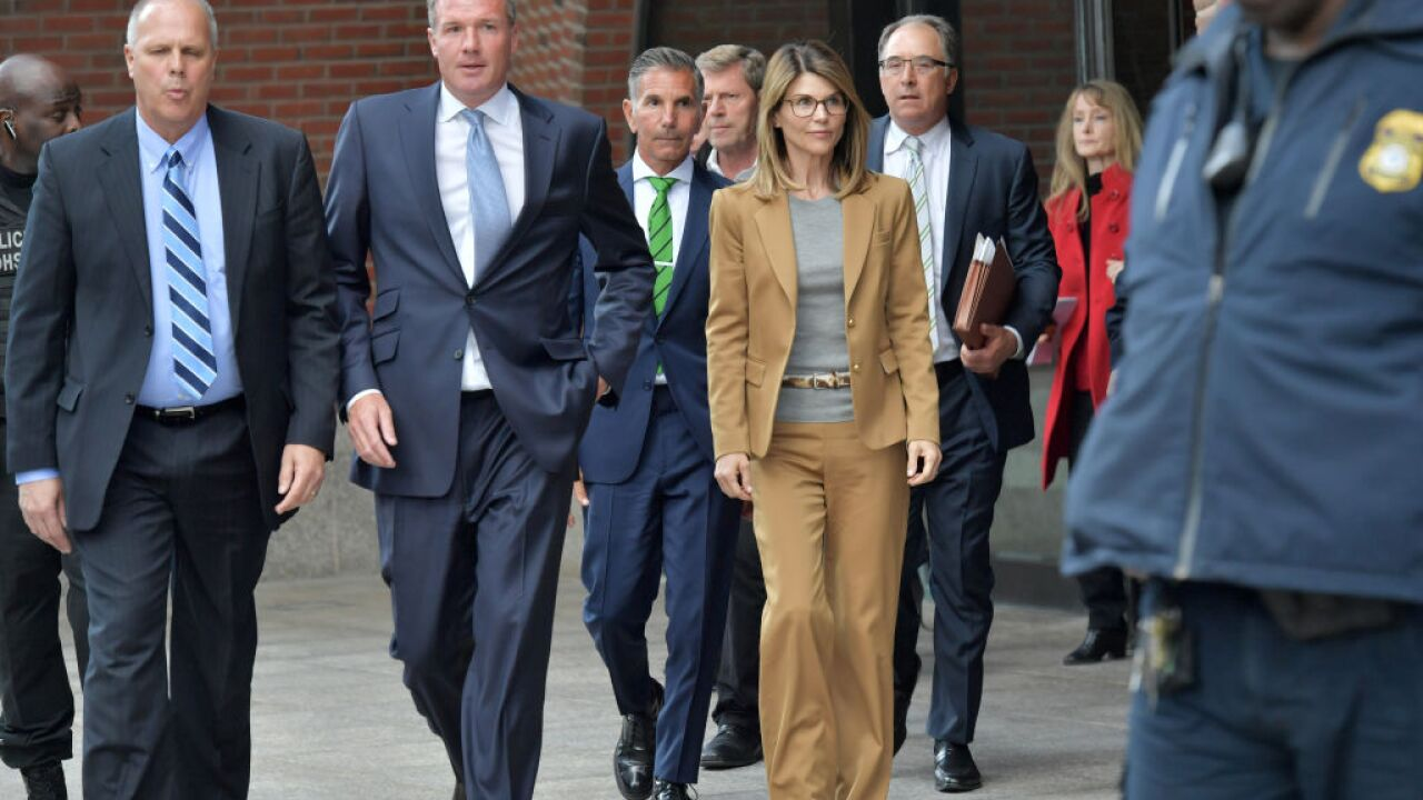 Lori Loughlin, Mossimo Giannulli plead not guilty to college admissions scam charges