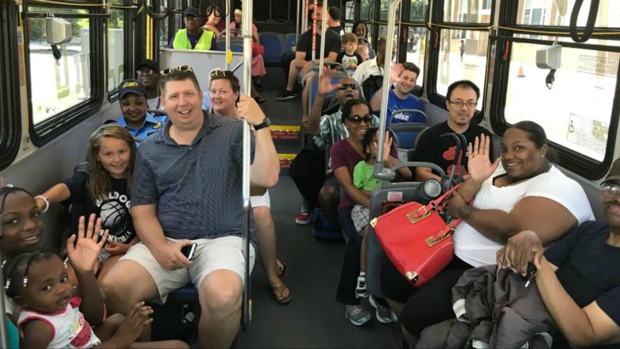 GRTC Pulse launches in Richmond; riders offer firstimpressions