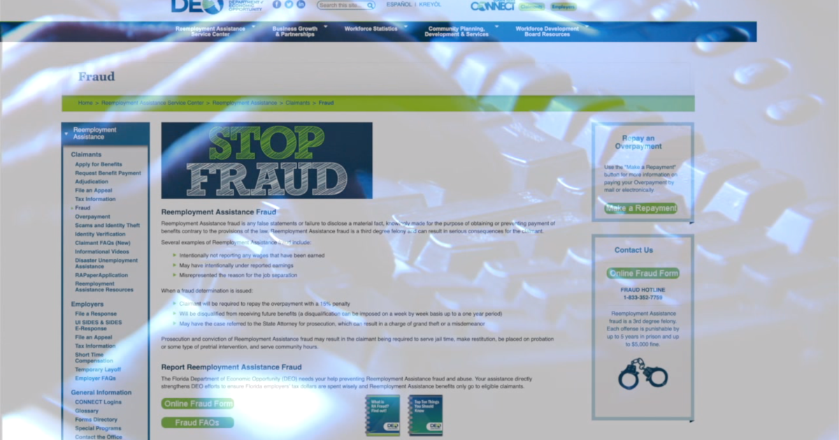 Florida launches new form to report unemployment fraud