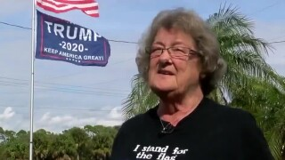 President Trump 2020 flag causes controversy in Florida neighborhood