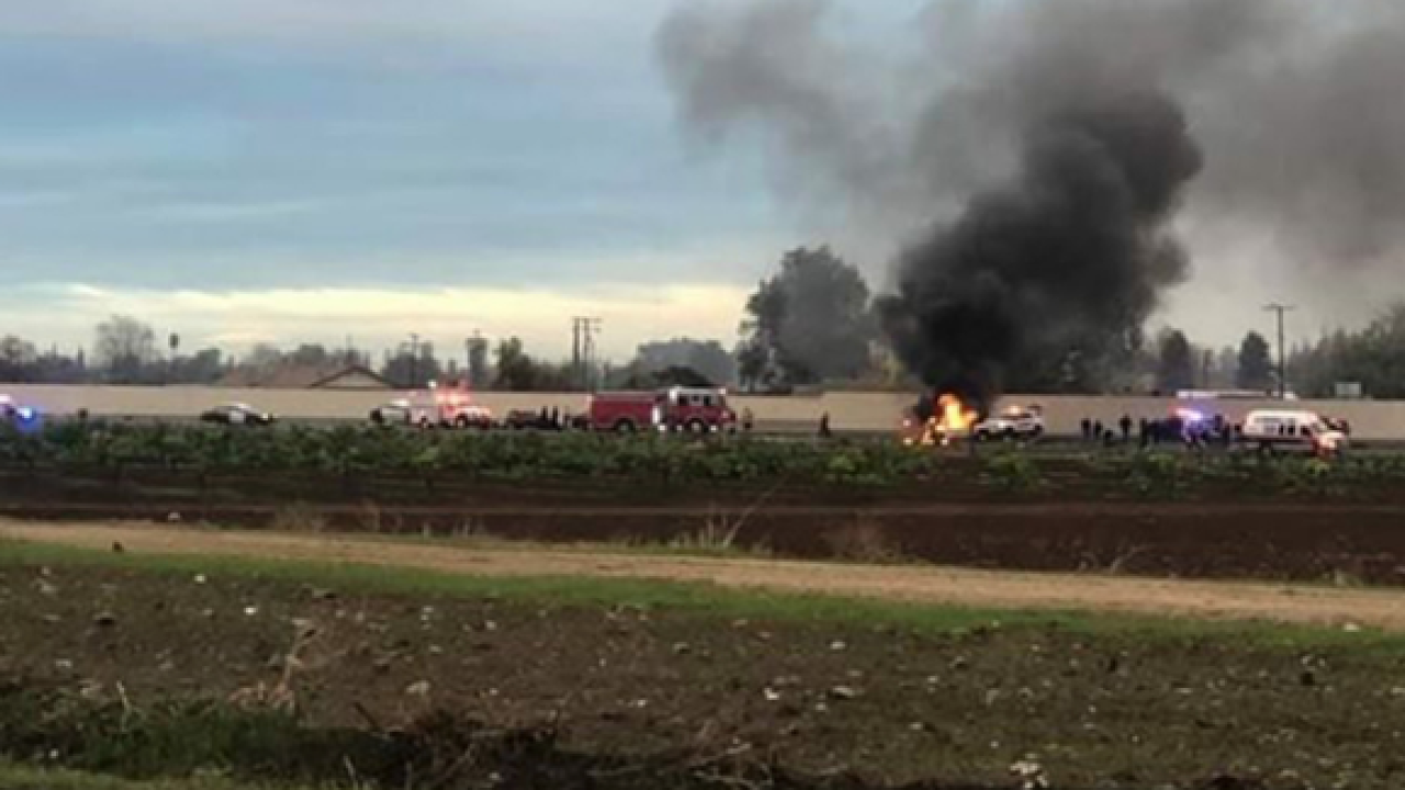 Man killed in Tulare County crash connected to deadly shooting and