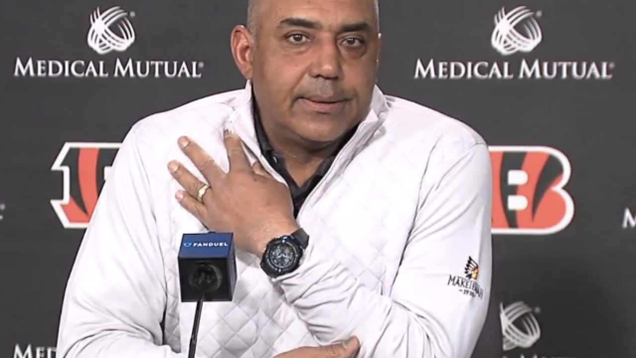 Marvin Lewis: Offseason moves, staff changes give Bengals 'new and different mentality' for draft