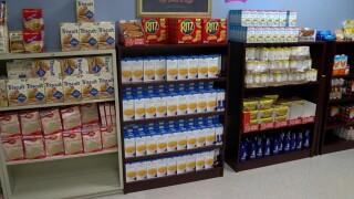 Hillsborough Community College food pantry