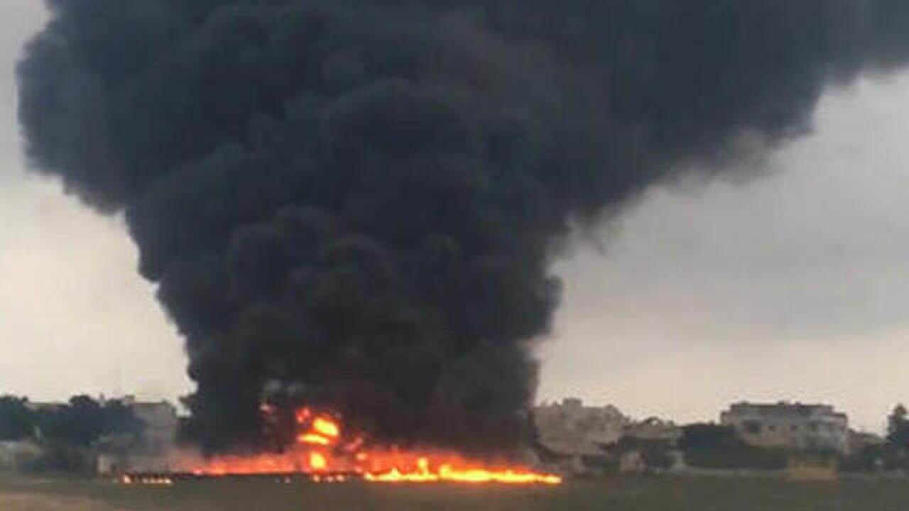 Malta says plane crashed en route to Libya surveillance trip