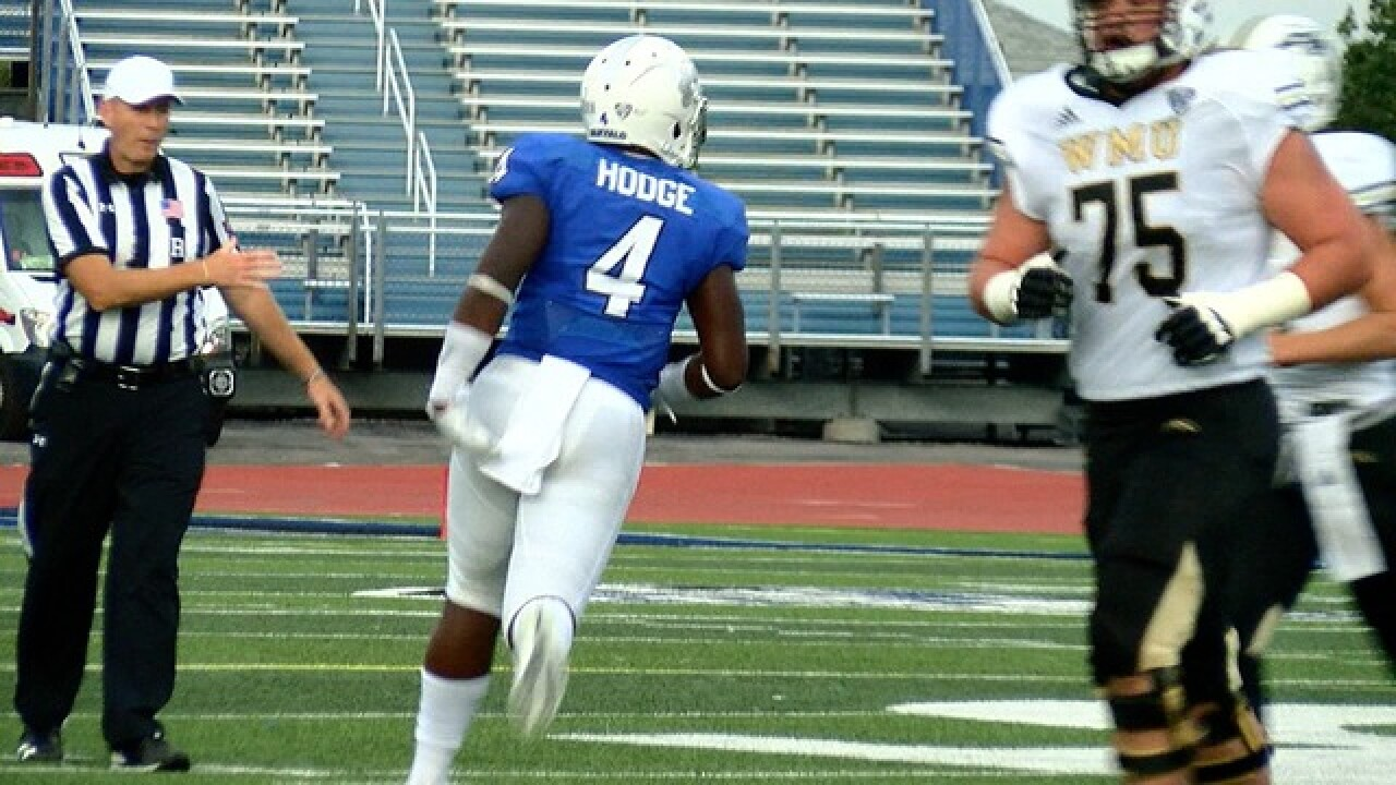 UB's Khalil Hodge named to Chuck Bednarik Watch List