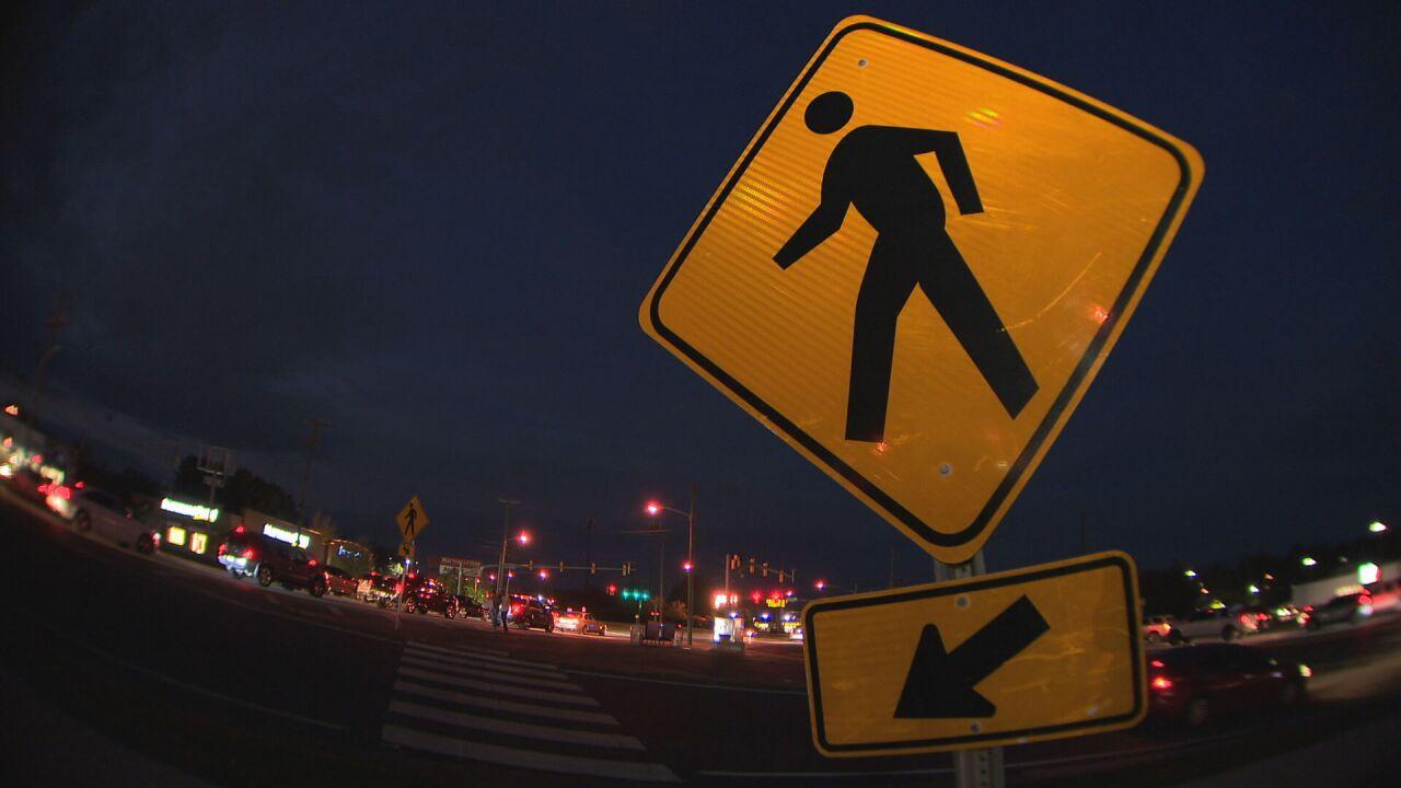 generic pedestrian sign