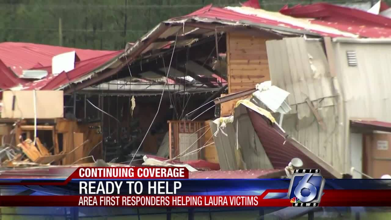 Local agencies send help for those affected by Hurricane Laura
