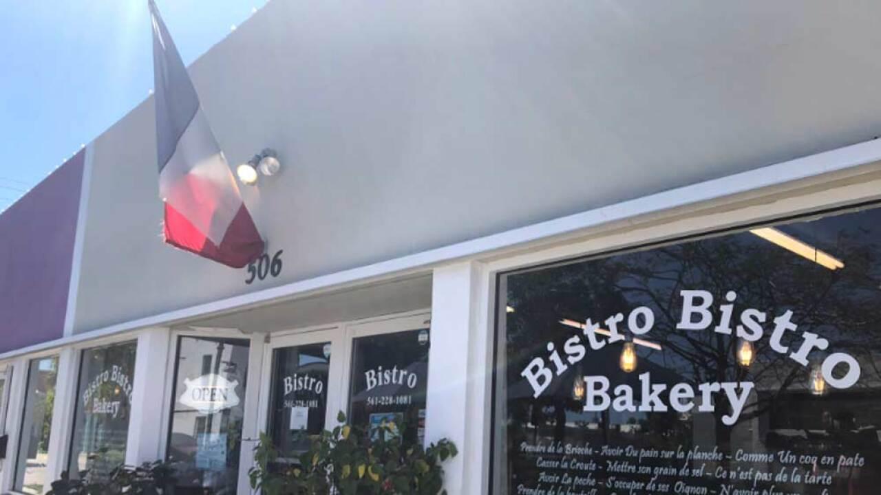 """""""Bistro Bistro Bakery"""" in West Palm Beach"""
