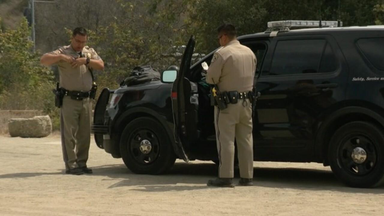 CHP officer wrestles man on SR-52
