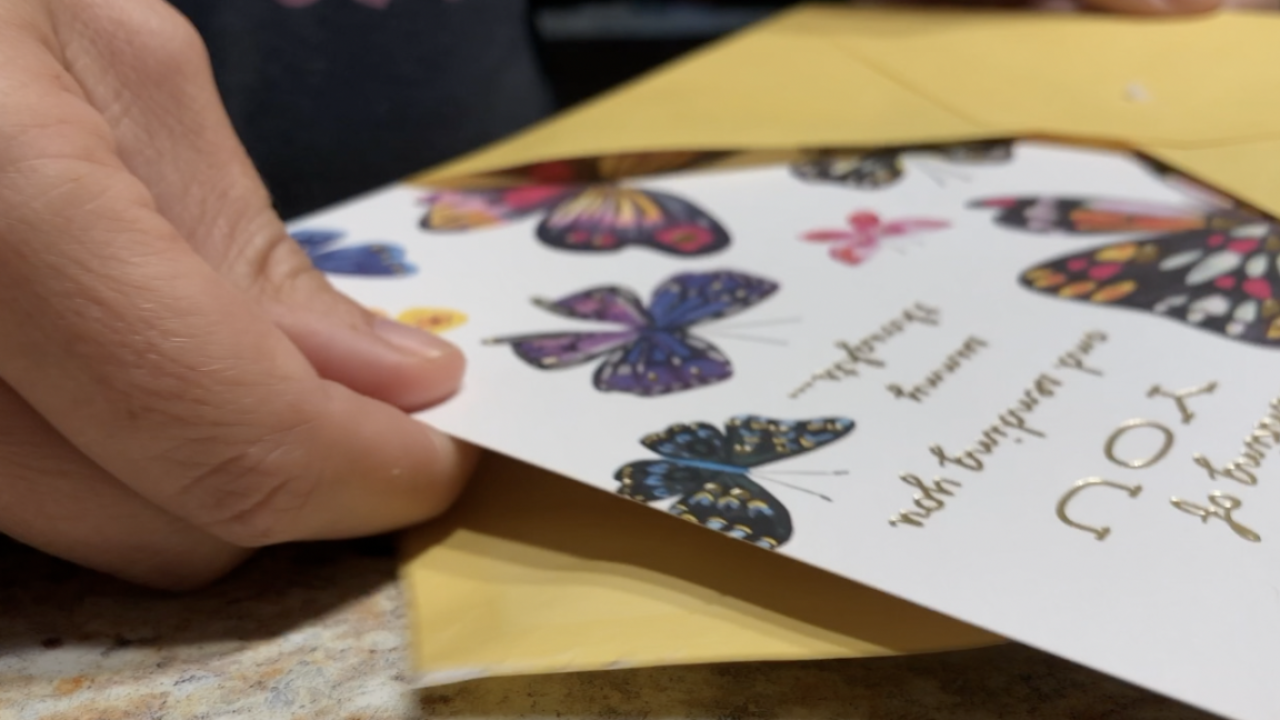 Man in Florida starts 'Cards For Grandma' to bring joy to lonely seniors