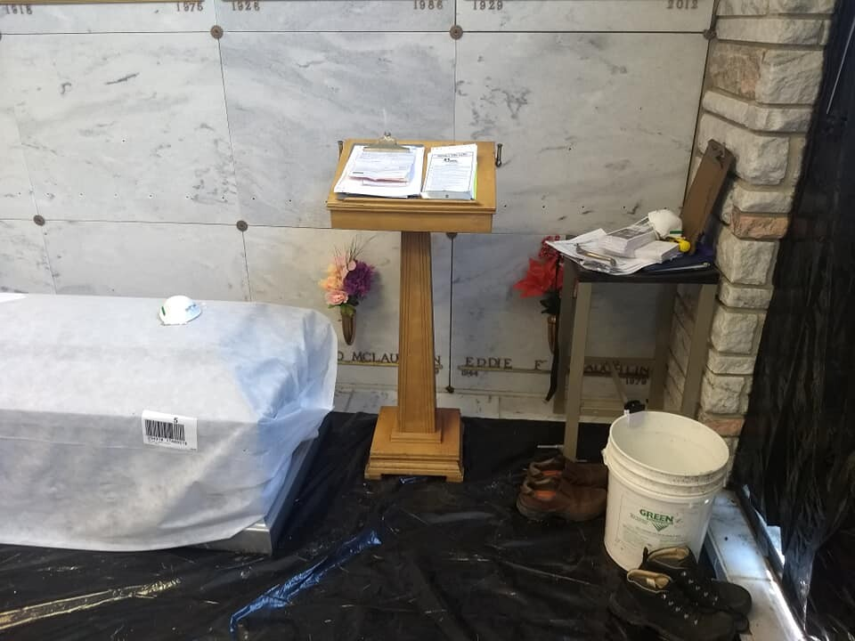 Photos: Family upset over conditions at Hamptoncemetery