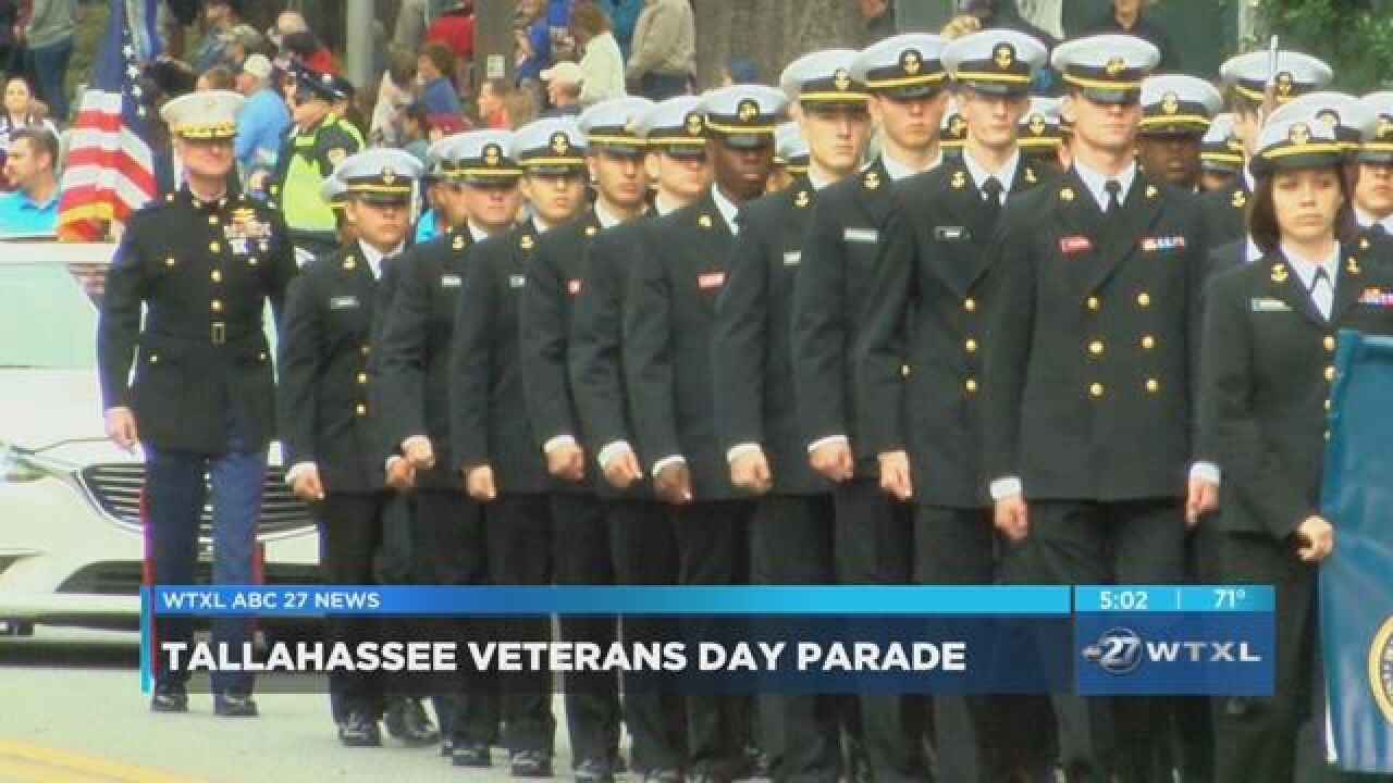 Tallahassee observes Veteran's Day with annual parade.jpg
