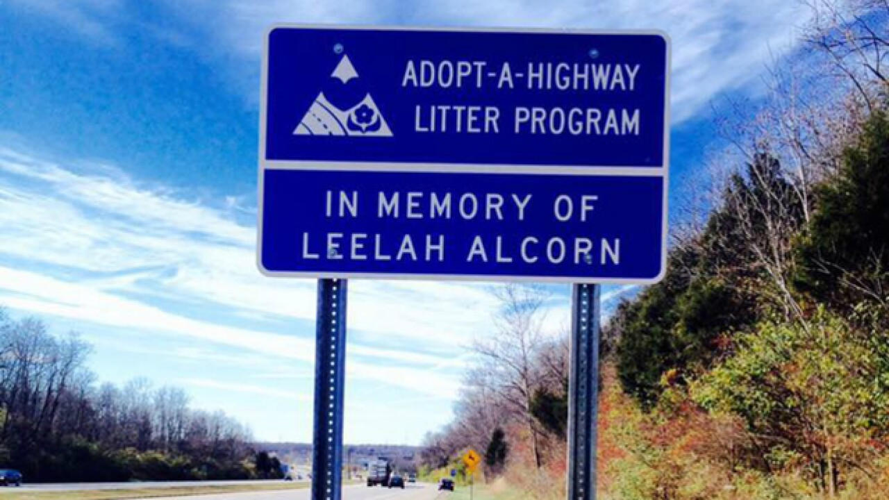 Stretch of I-71 dedicated to Leelah Alcorn