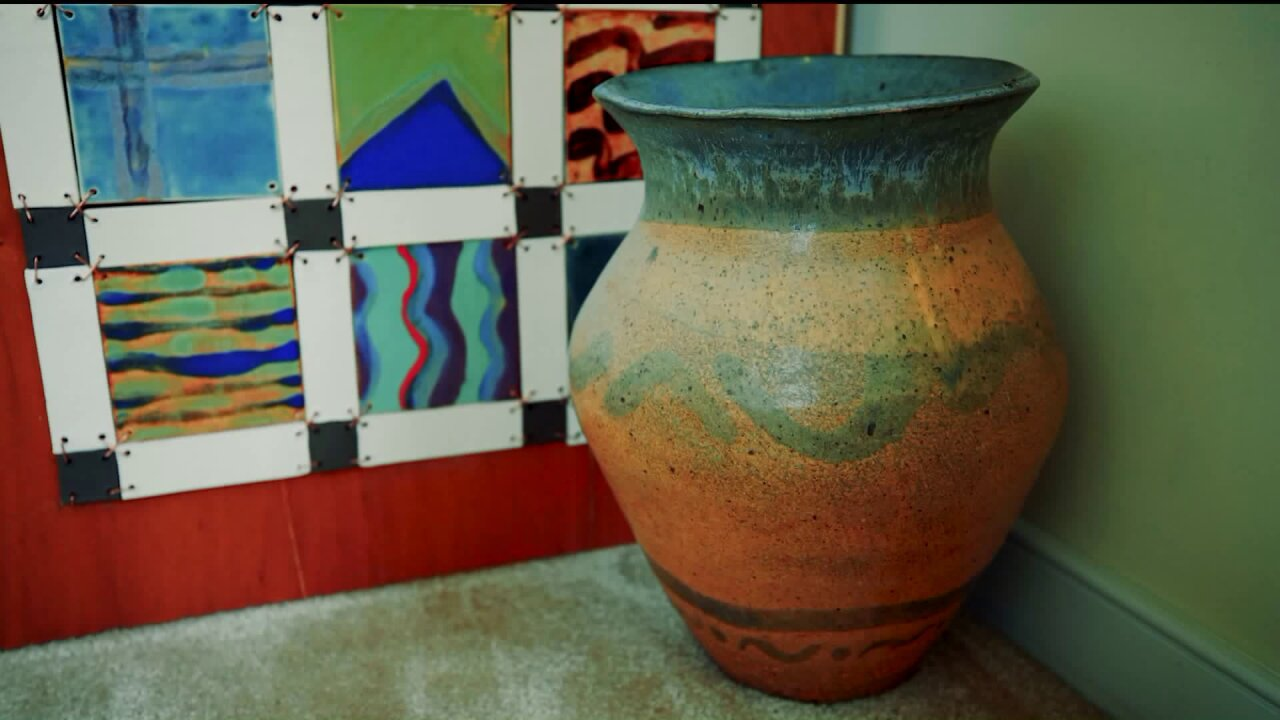 Traditional ceramic shapes with atwist