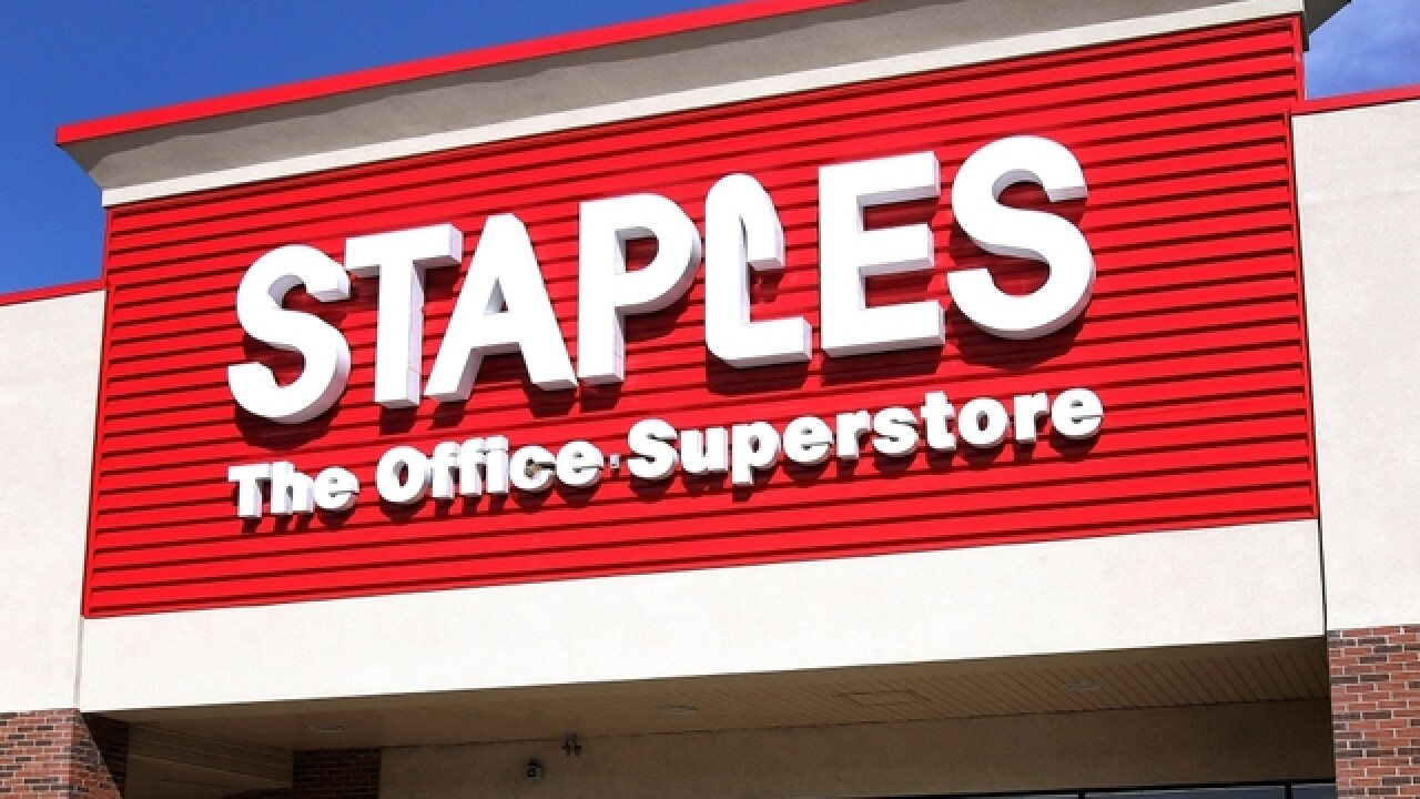Staples keeping its doors shut on Thanksgiving
