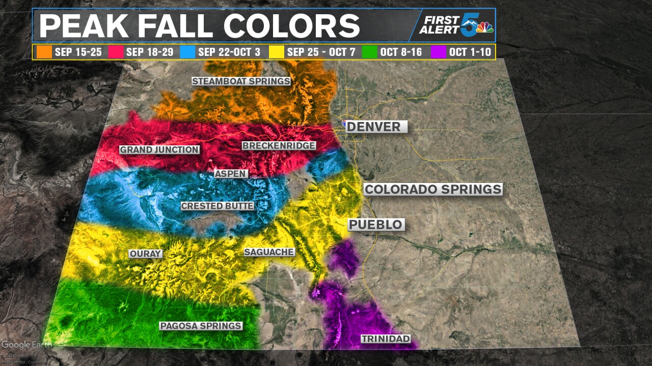 Colorado Peak Fall Colors
