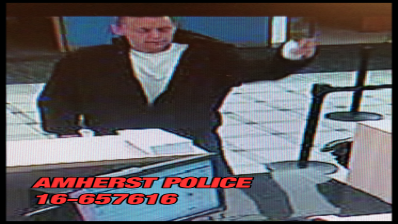 Man wanted for robbing Northtown First Niagara