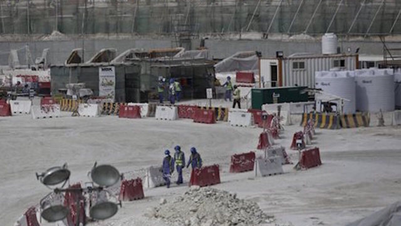 FIFA panel to monitor labor conditions in Qatar