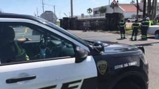 SPID and Park Road 22 crash