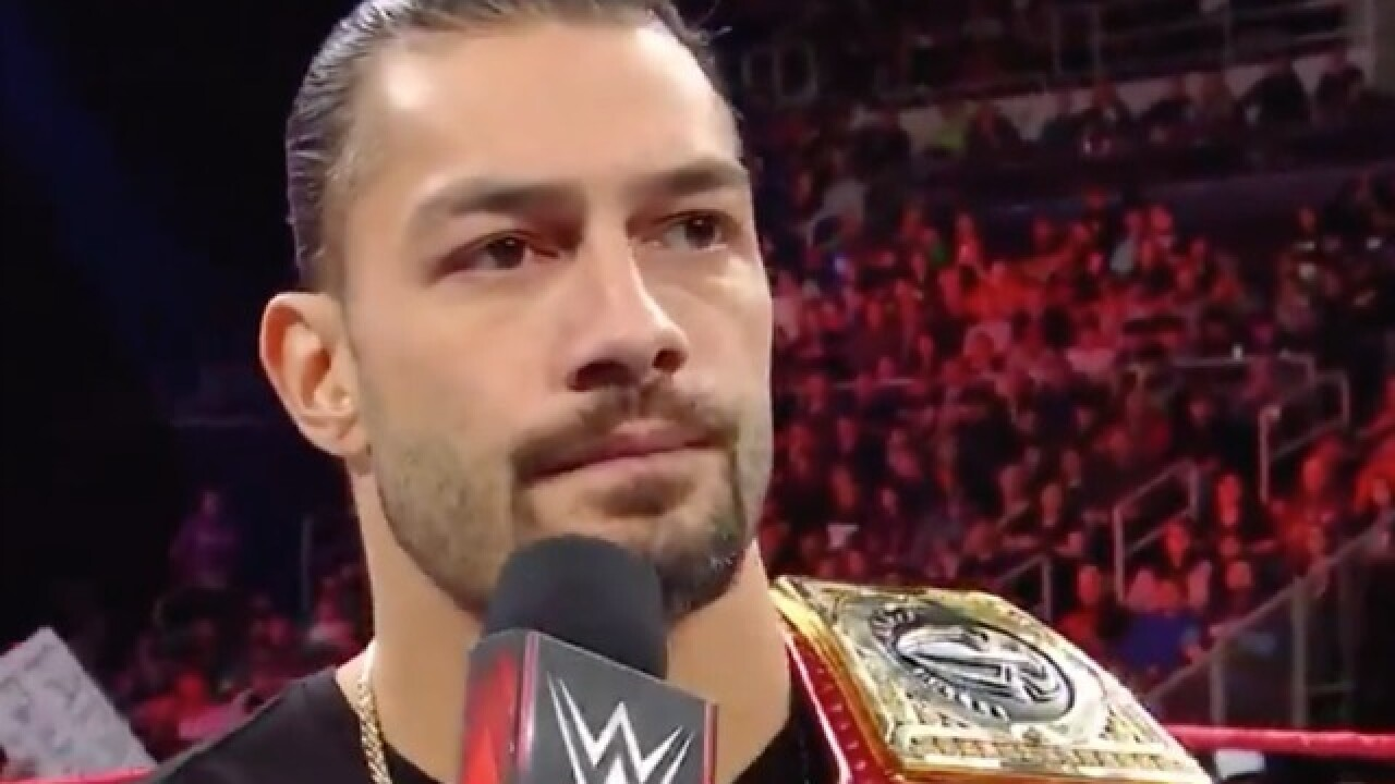 WWE's Roman Reigns announces he is battling leukemia