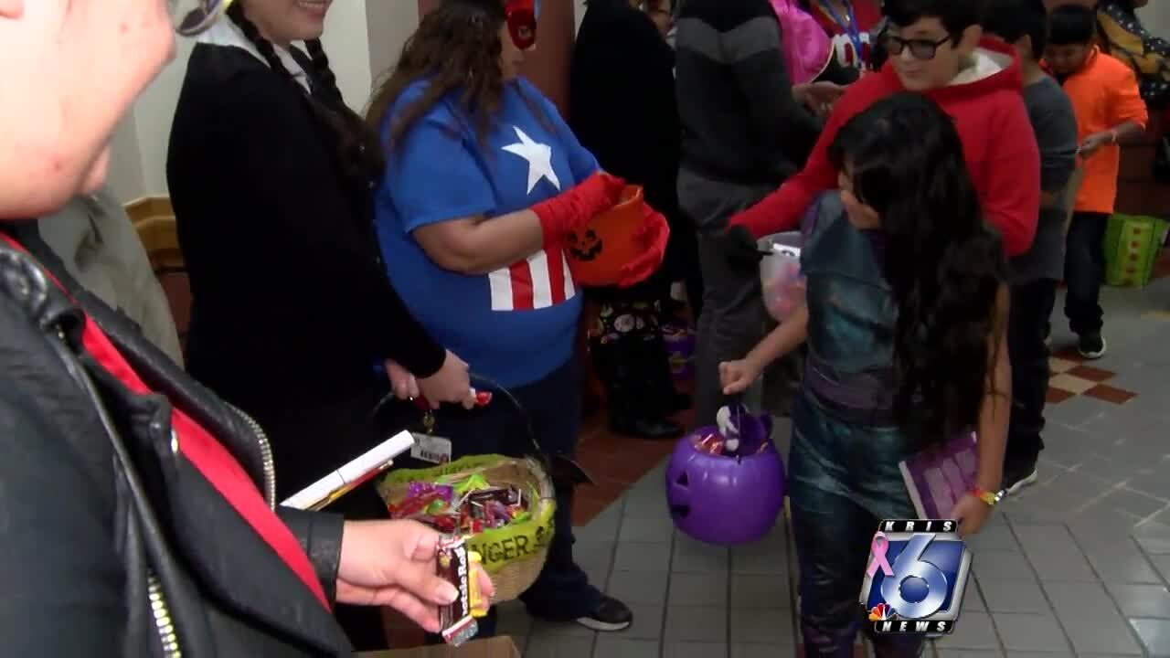 City Hall trick or treaters.jpg