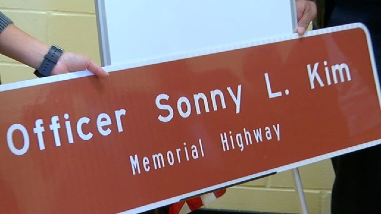 Highway to be named after Officer Sonny Kim