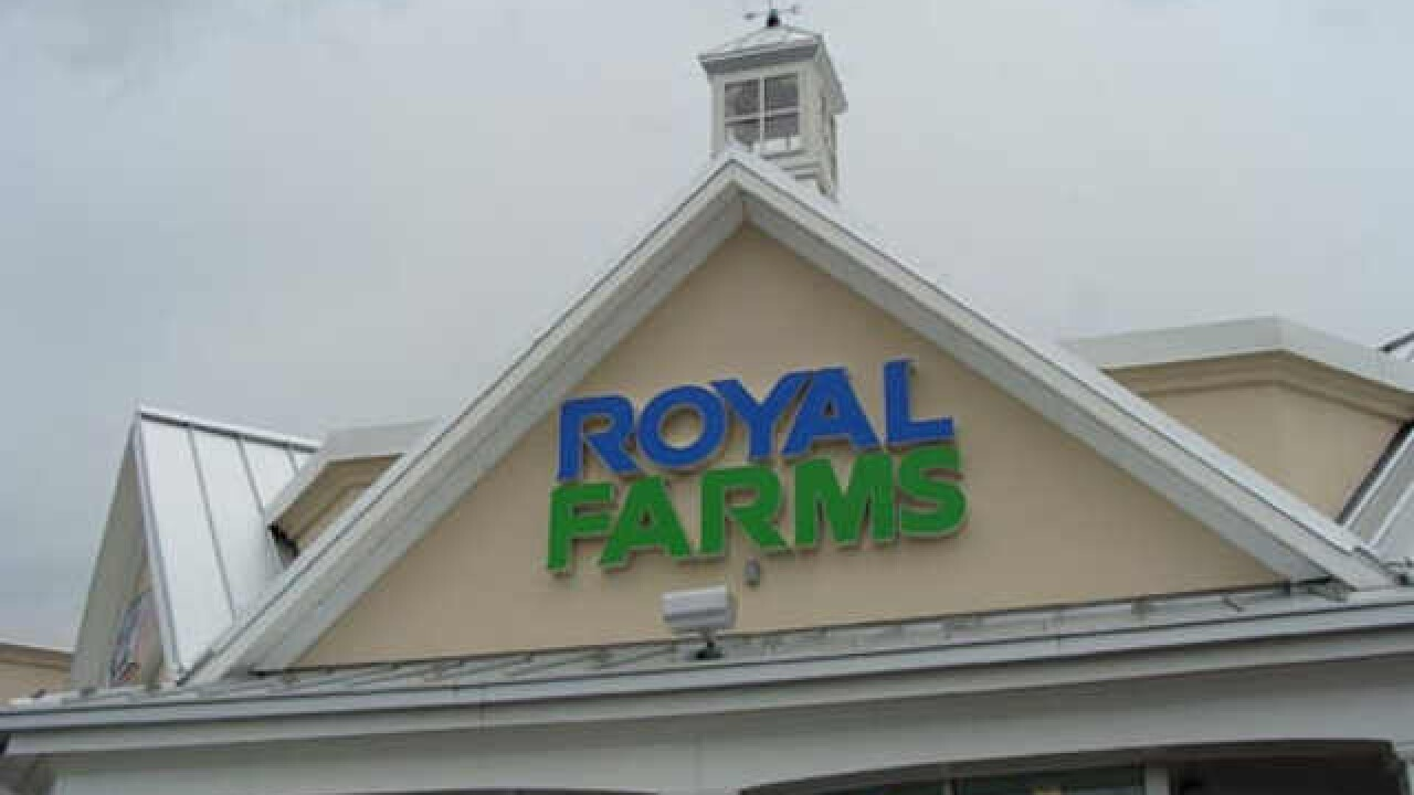 Royal Farm robbery suspect wanted by police