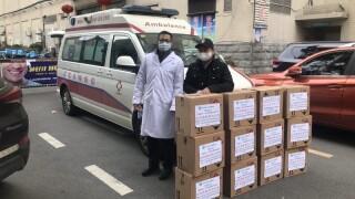 Coronavirus boxes