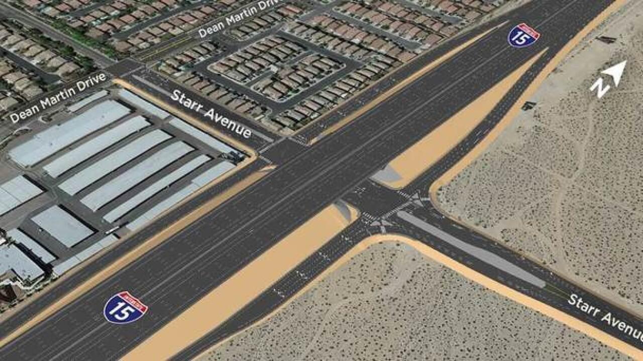 NDOT begins working on new I-15 interchange
