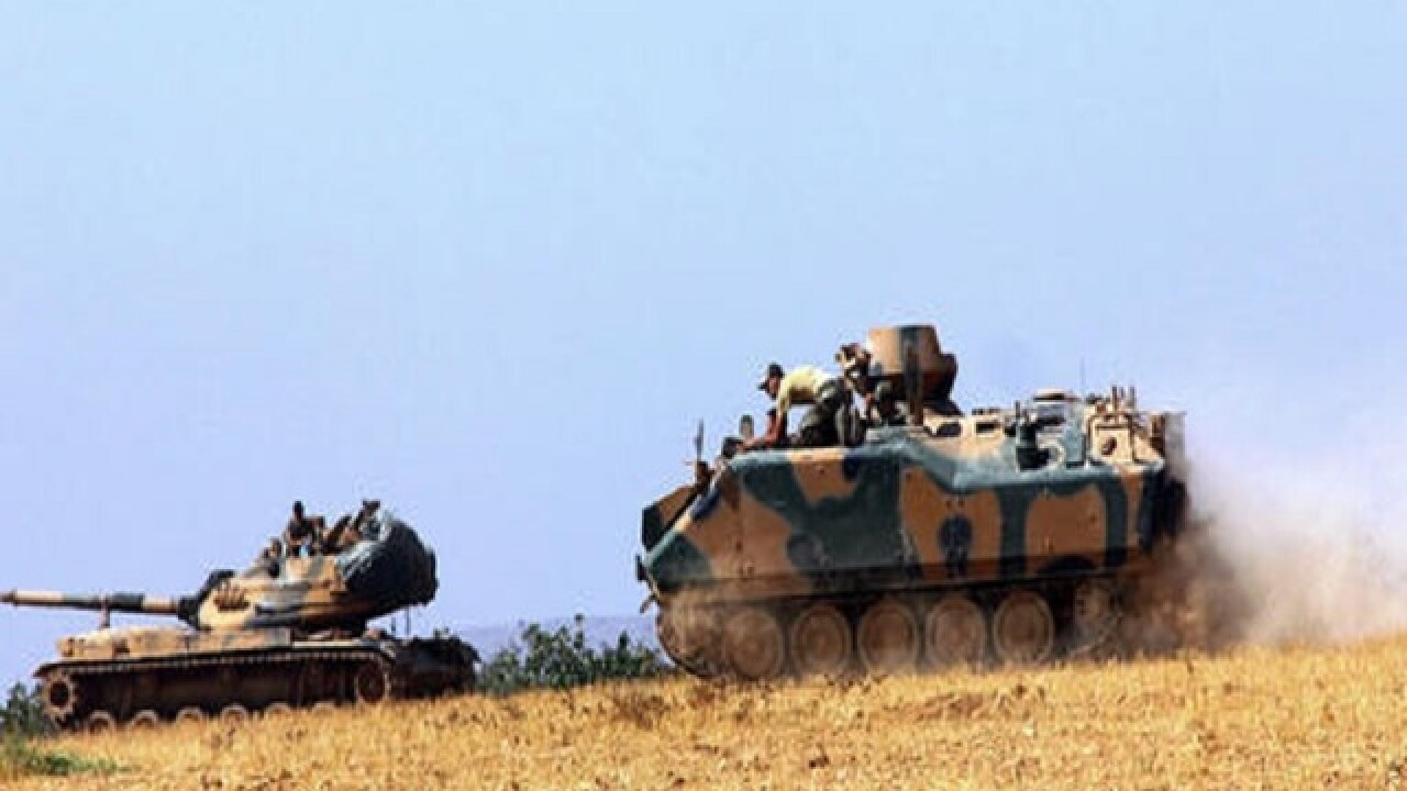 Turkey: Operation launched to free IS-held Syrian town