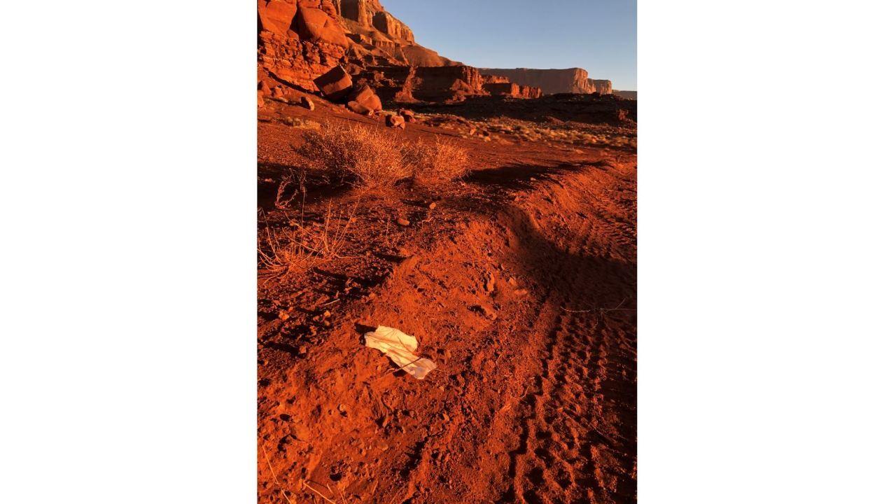 Utah monolith site waste