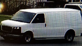 Baltimore County Police investigating reports of a suspicious man in a van luring children