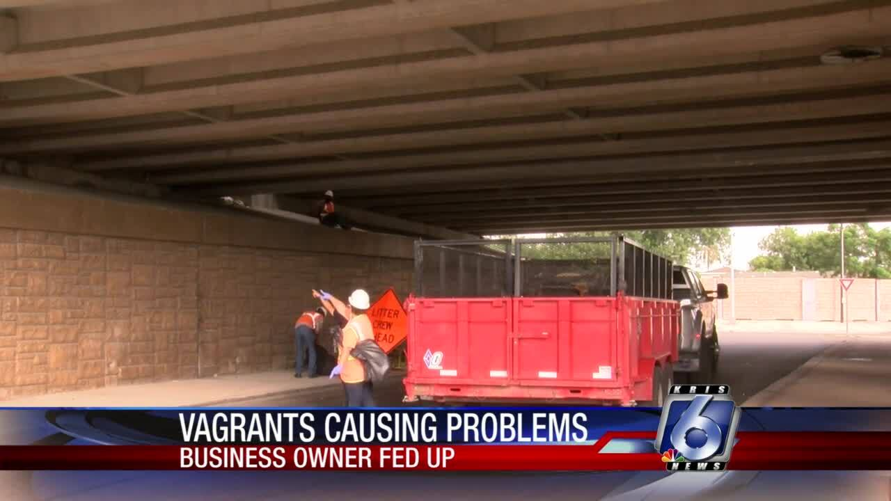 Crosstown business owner frustrated with homeless