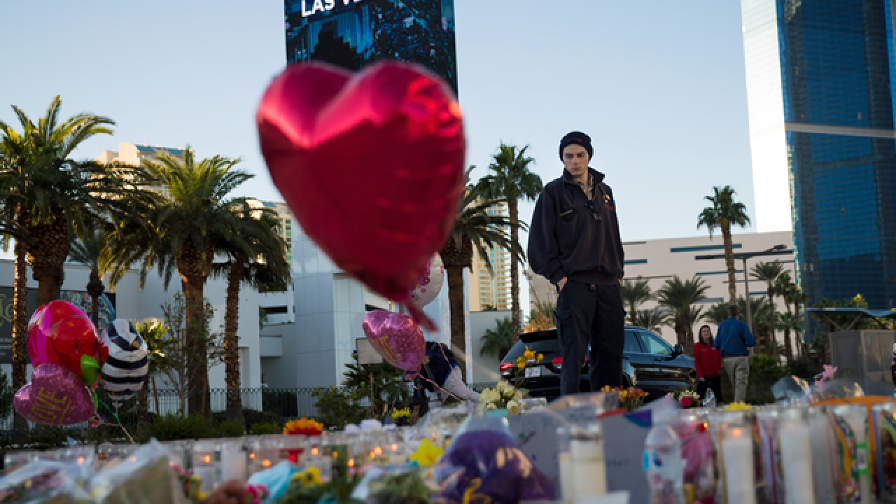 Plan released for dividing Vegas victim money