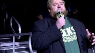 'Good luck charm': Bucks national anthem singer on 6-0 game winning streak