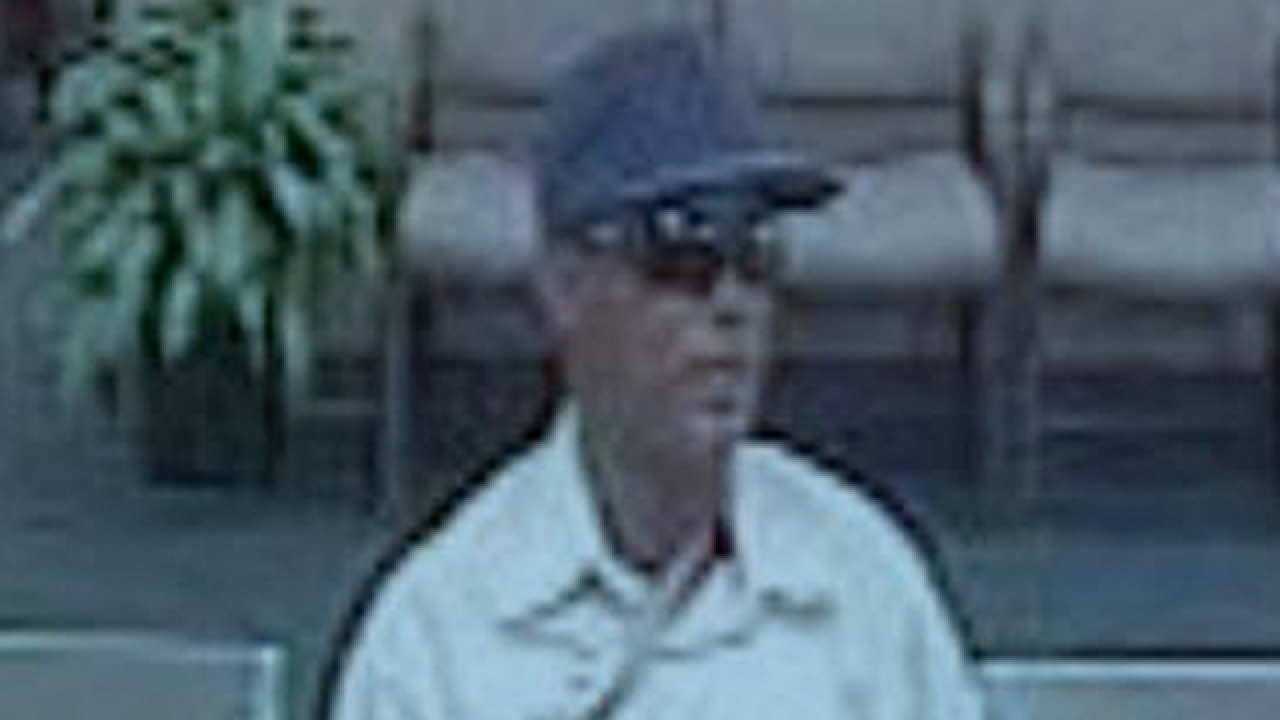 Bank robbery suspect sought in Palm Beach County