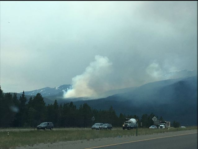 PHOTOS: Peak 2 Fire burning near Breckenridge prompts evacuations