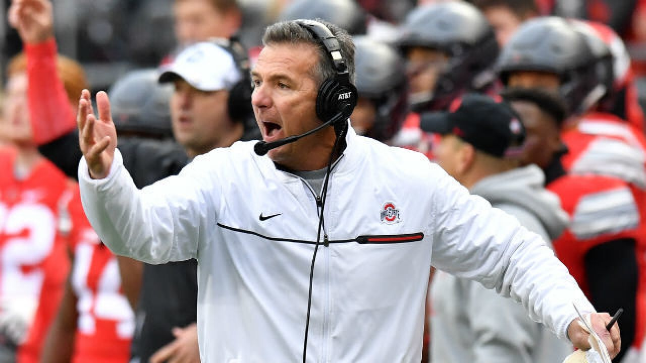 Ohio State's Urban Meyer pushes back on reasons for suspension