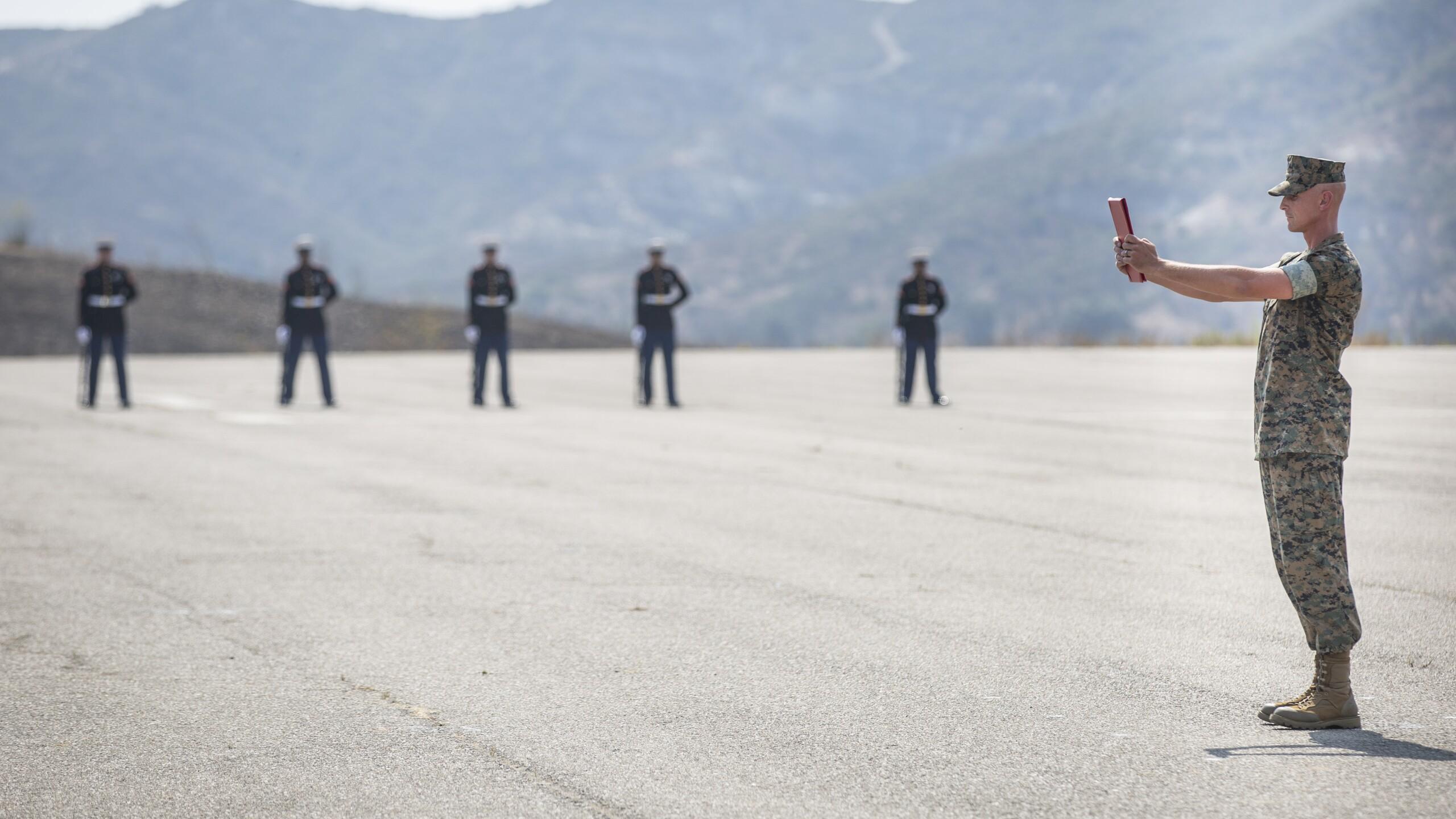 Memorial service honors Marines, sailor killed in training mishap