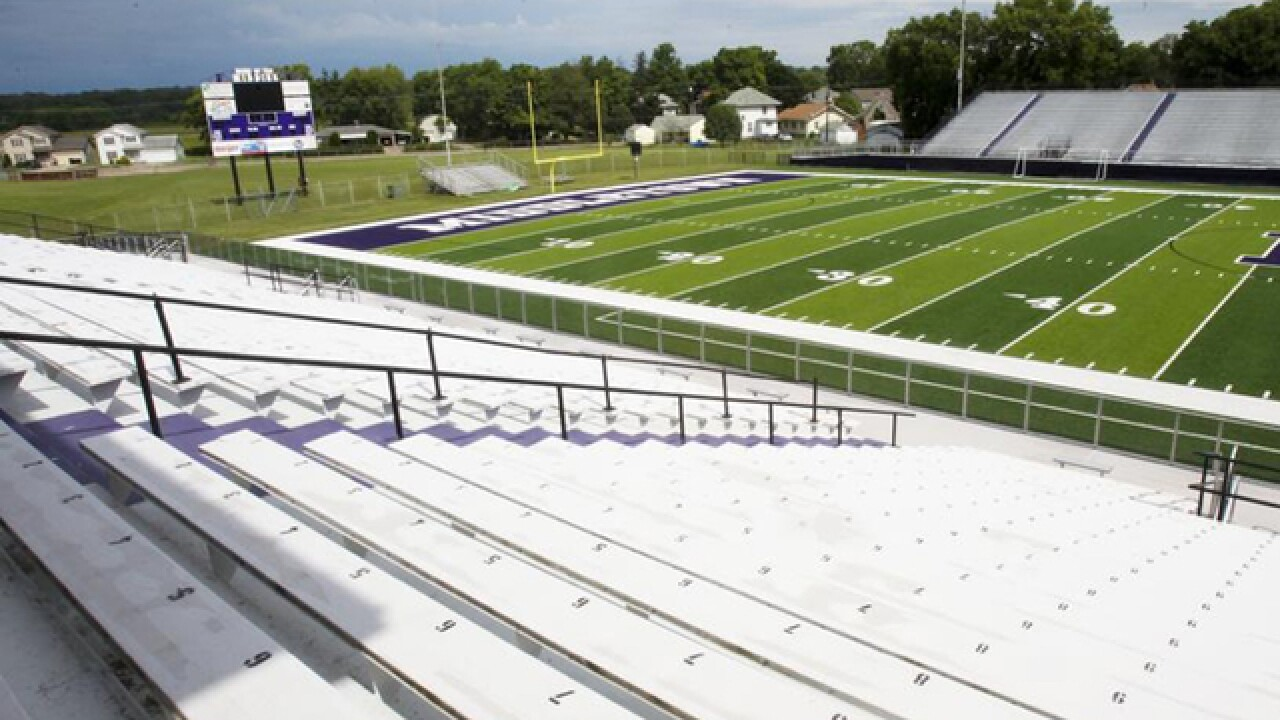 Woman dies while cleaning Middletown High School's Barnitz Stadium